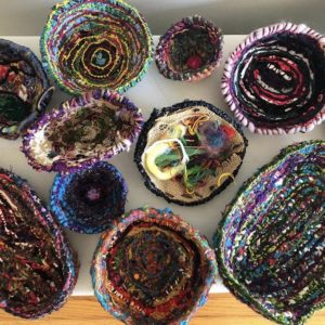 Hand Stitched Bowls